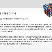 world-currencies-on-rubiks-cube-3d-creative-money-market-trading-powerpoint-template-ppt-2