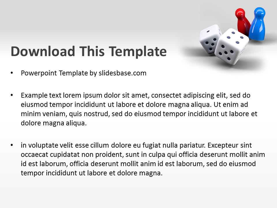 games powerpoint template | slidesbase, Presentation templates