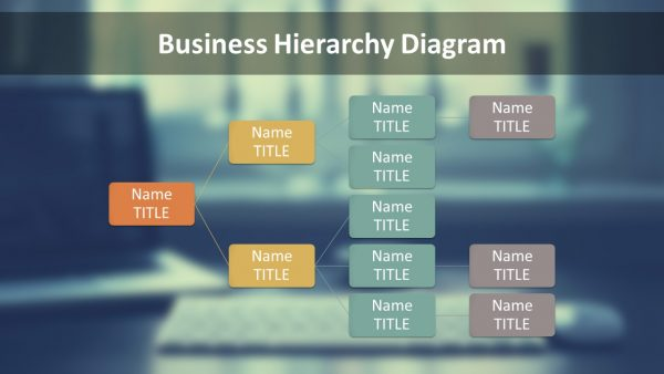 business-hierarchy-company-chart-free-ppt-template