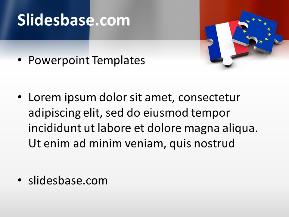Frexit powerpoint template slidesbase france french leave eu european union vote leave toneelgroepblik Gallery