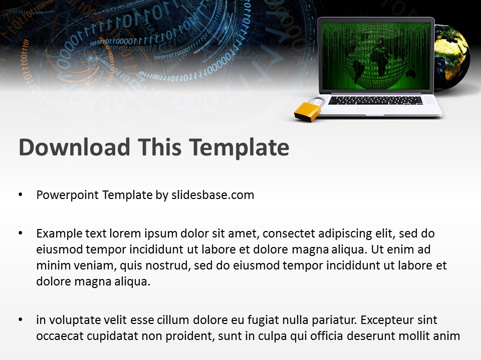 Online security powerpoint template slidesbase online security powerpoint template toneelgroepblik
