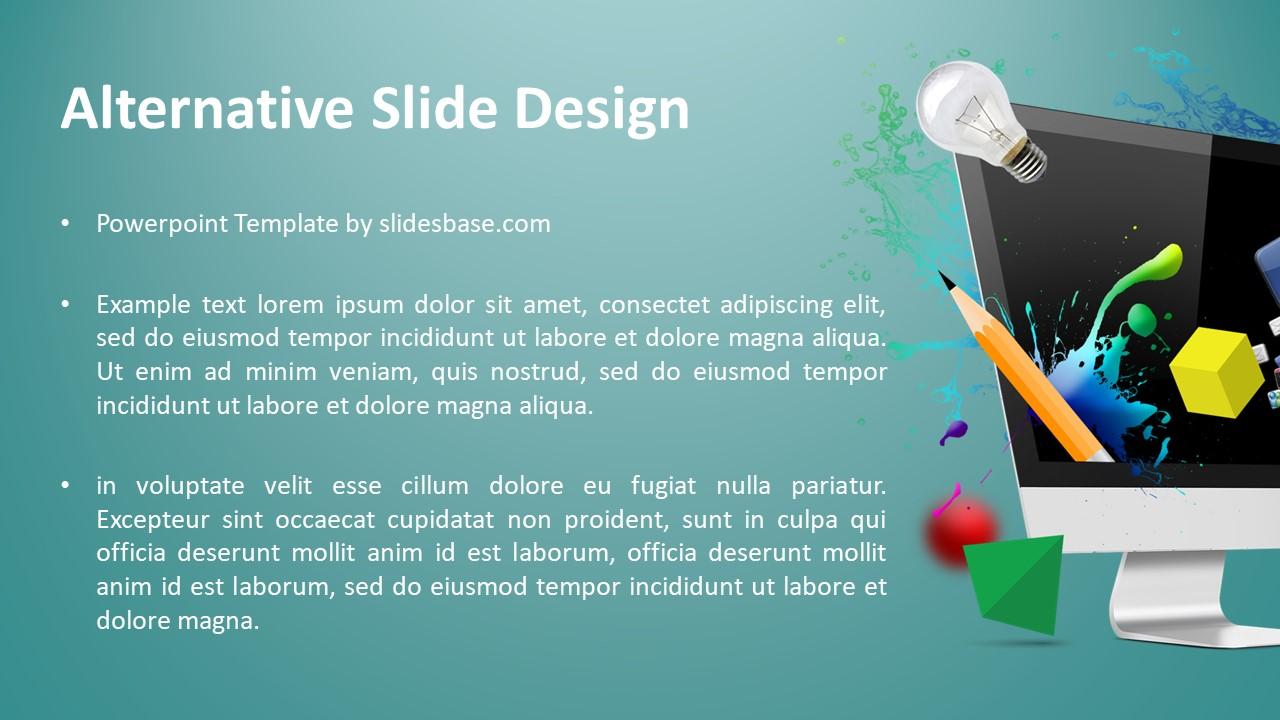 Creative web design powerpoint template slidesbase creative web design powerpoint template maxwellsz