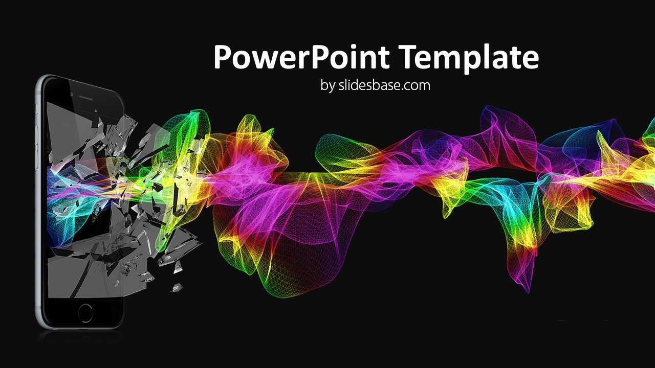 Technology Wave Powerpoint Template