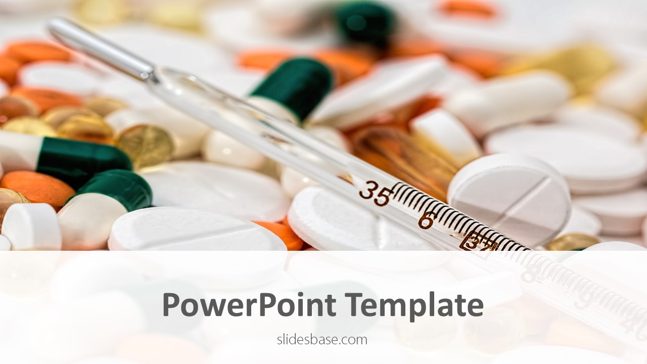 drugs  u0026 medications powerpoint template