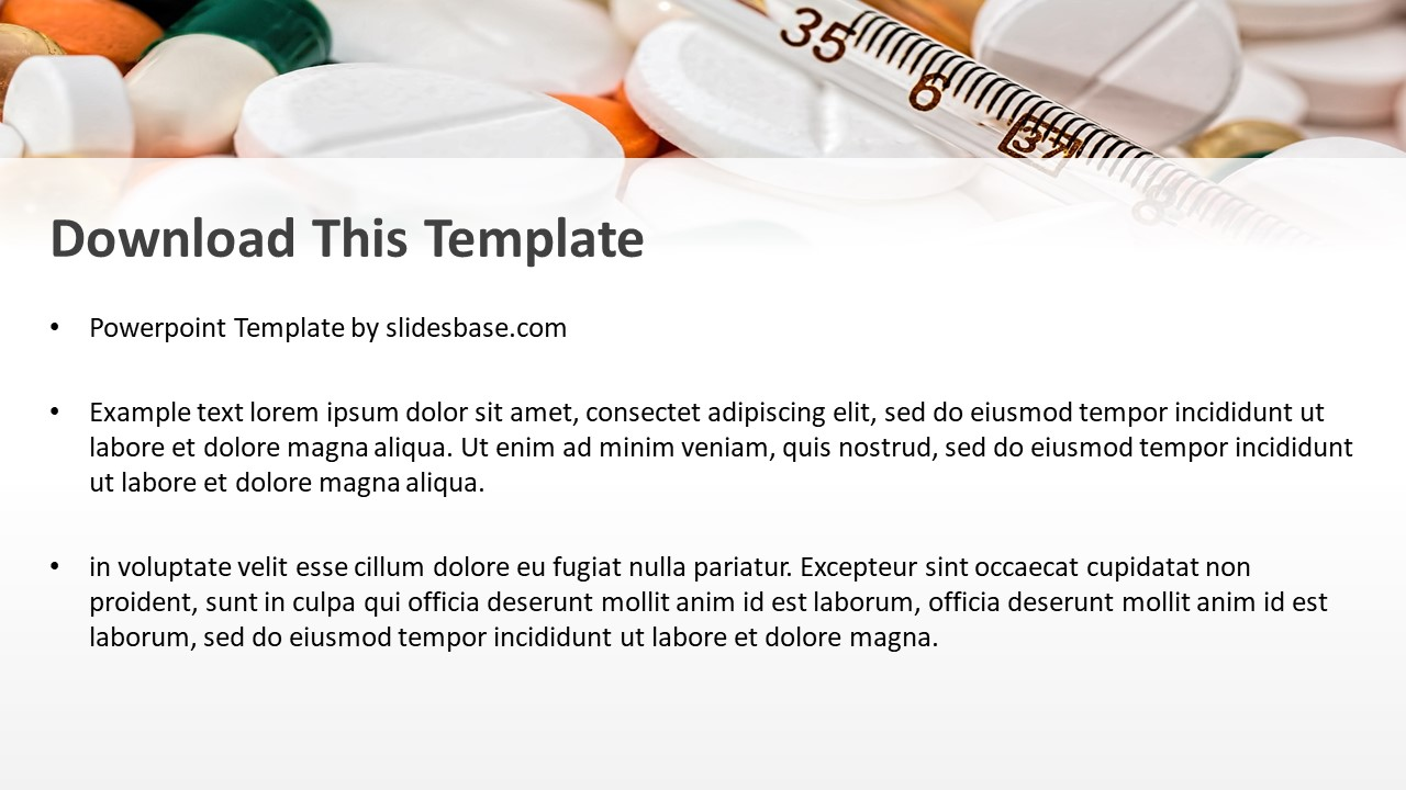 Drugs medications powerpoint template slidesbase drugs medications powerpoint template toneelgroepblik Choice Image
