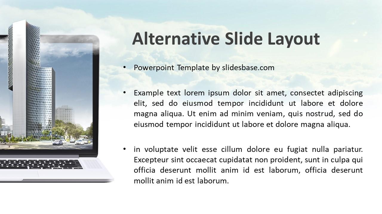 Digital Business Landscape Powerpoint Template Slidesbase