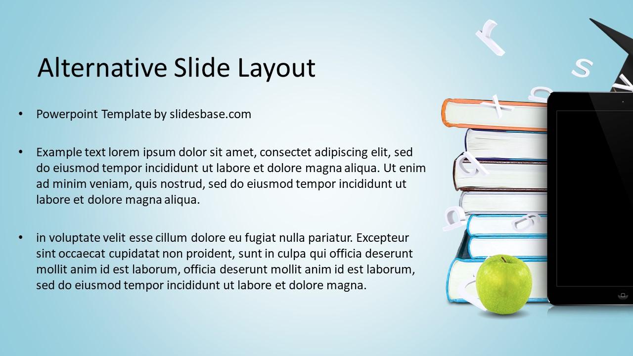 Educational Technology PowerPoint Template   Slidesbase