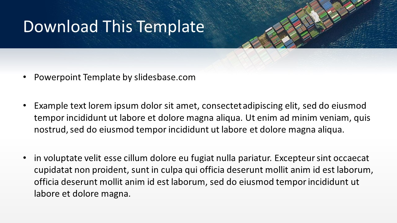 Shipping and logistics powerpoint template slidesbase shipping and logistics powerpoint template toneelgroepblik Images