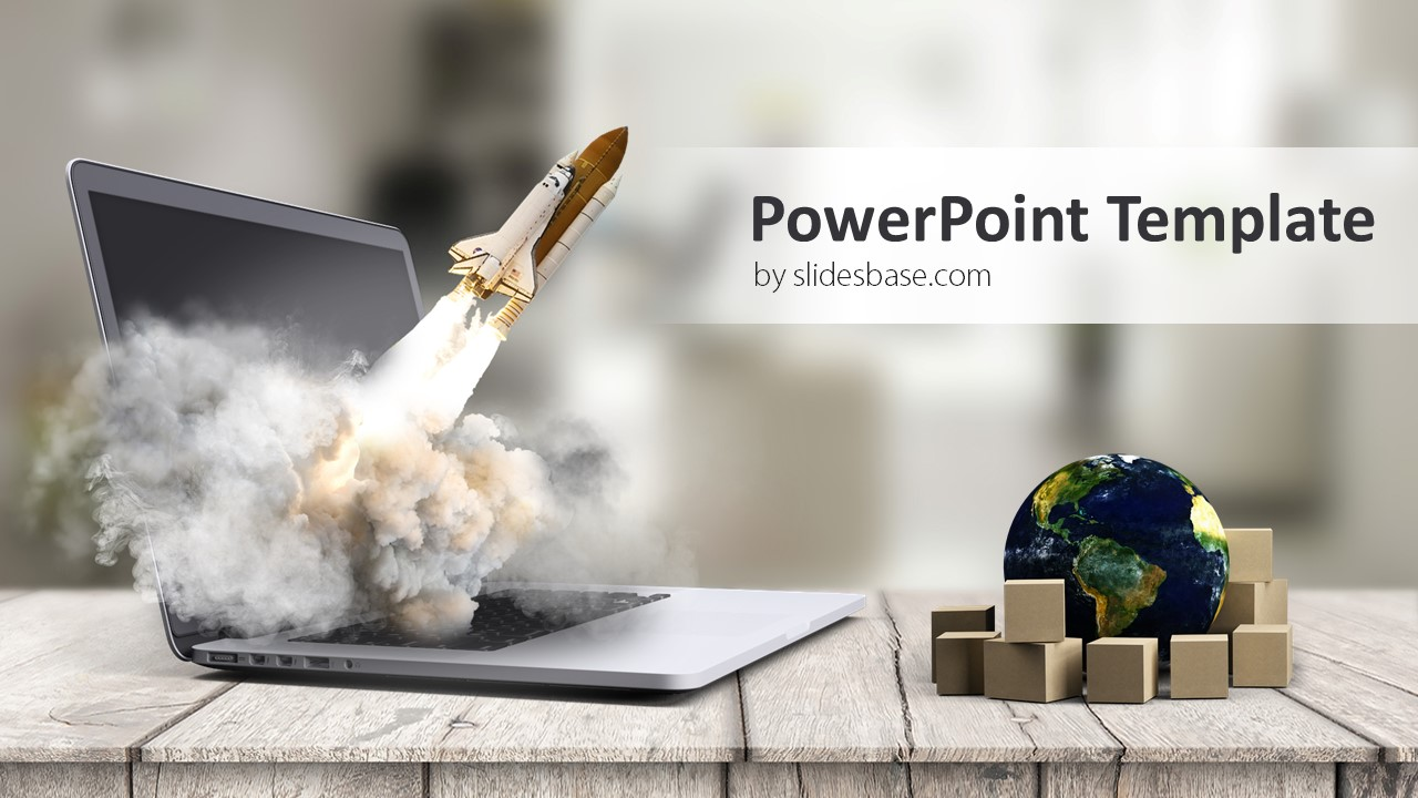 Startup business launch powerpoint template slidesbase 3d startup rocket launch company business entrepreneurship powerpoint toneelgroepblik Image collections
