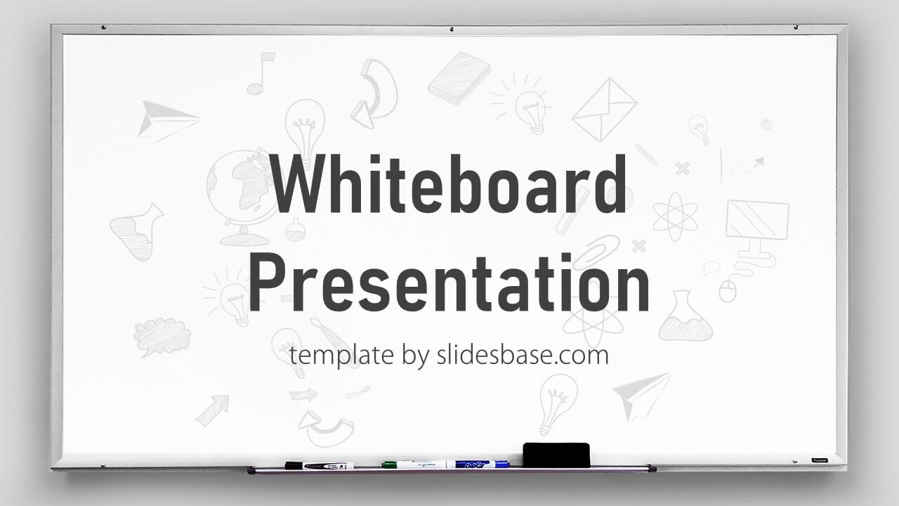whiteboard powerpoint template slidesbase