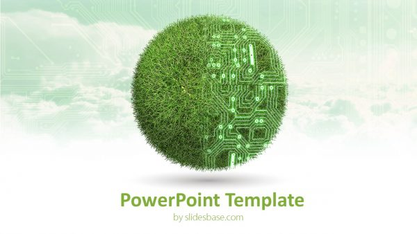 1-green-environment-technology-3d-grass-sphere-energy-wind-solar-powerpoint-ppt-presentation-template-Slide1