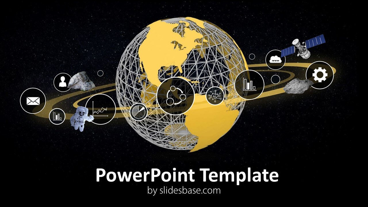 Business Orbit Powerpoint Template