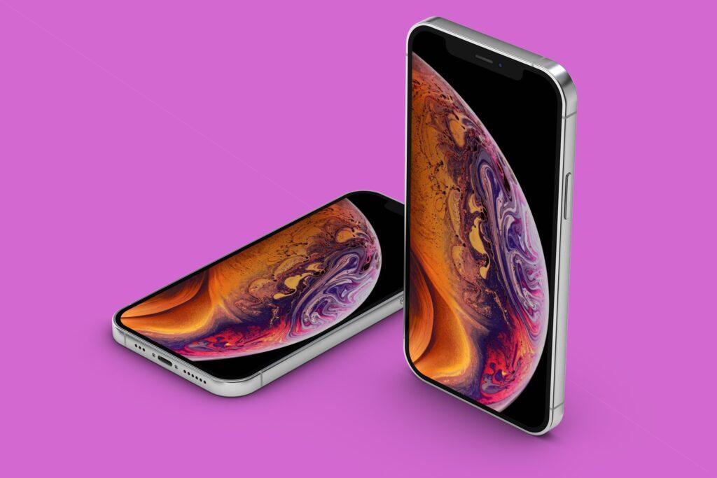 iphone12-iphone mockup-iphone12 mockup