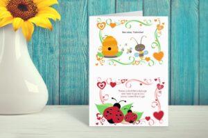 Valentines day- valentine card-valentine hugs